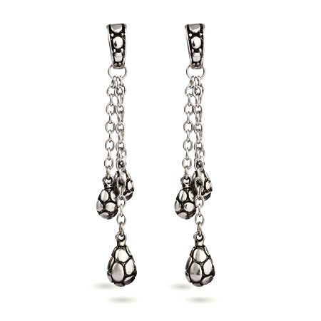 Designer Inspired Oval Bead Dangling Bali Style Earrings | Eve's Addiction®
