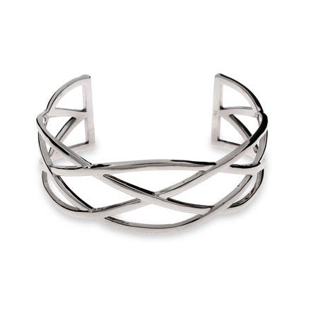 Celtic Knot Sterling Silver Cuff Bracelet | Eve's Addiction®