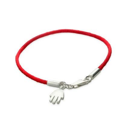 Magical Protection Sterling Silver Hamsa Bracelet | Eve's Addiction®