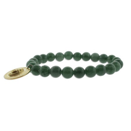 Genuine Jade Bead Strength Karma Bracelet | Eve's Addiction®