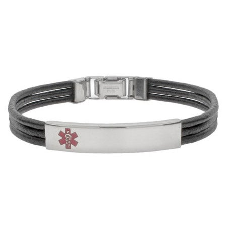 Engravable Emergency Medical ID Bracelet | Eve's Addiction®
