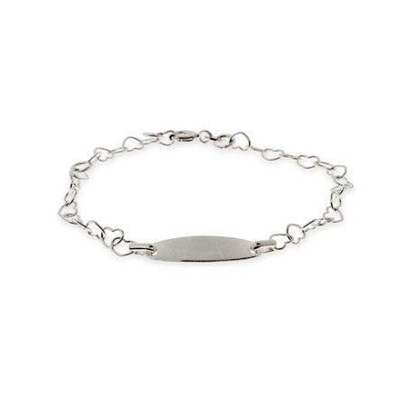 Heart Link Kids ID Bracelet | Eve's Addiction®