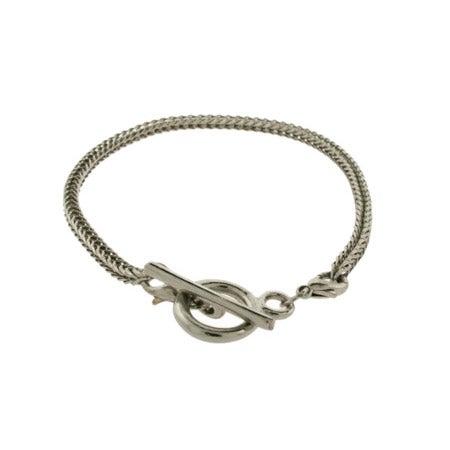 Oriana Bead Toggle Bracelet - Pandora Bead Compatible