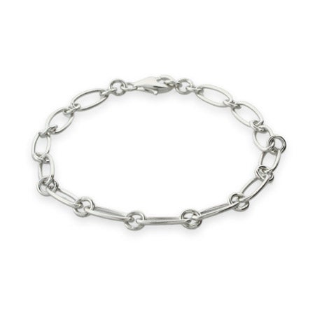 Sterling Silver Link Chain Bracelet | Eve's Addiction®