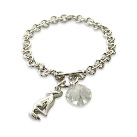 Movie Inspired Sterling Silver Charm Bracelet | Eve's Addiction®