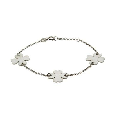 Lucky Four Leaf Clover Bracelet