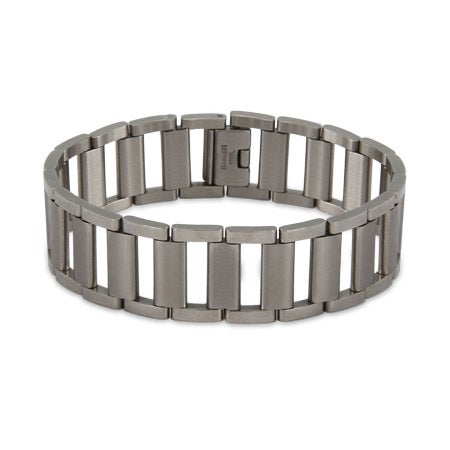 Men's Ladder Link Stainless Steel Bracelet | Eve's Addiction®