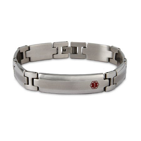Stainless Steel Medical ID Bracelet | Eve's Addiction®