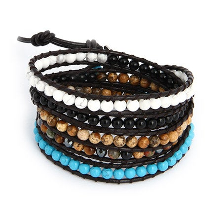 Chen Rai Gemstones Wrap Bracelet | Eve's Addiction®