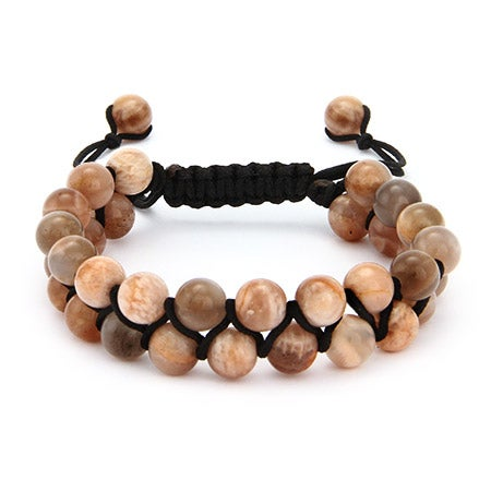 Designer Inspired Sunstone Spiritual Bead Bracelet | Eve's Addiction®