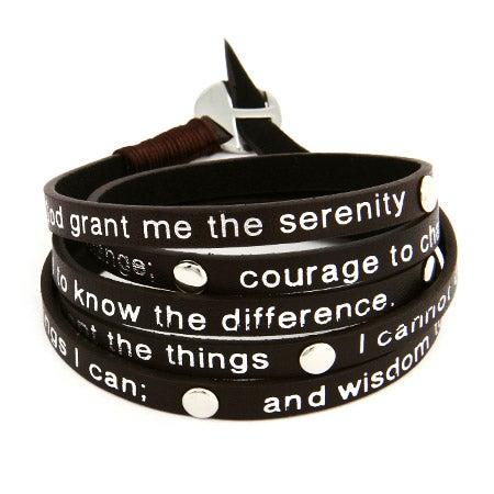 Serenity Prayer Wrap Bracelet | Eve's Addiction®