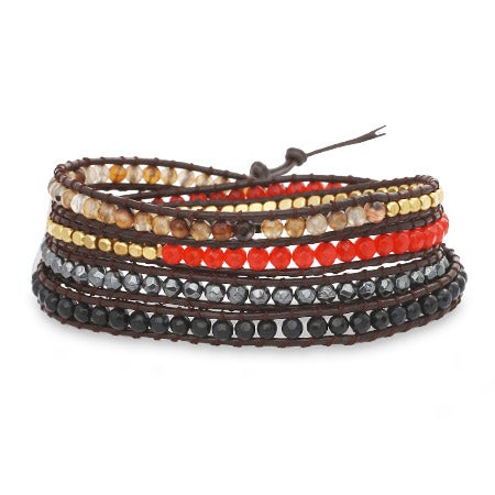Chen Rai Mixed Stones Wrap Bracelet | Eve's Addiction®