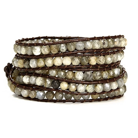 Labradorite Wrap Bracelet | Eve's Addiction®