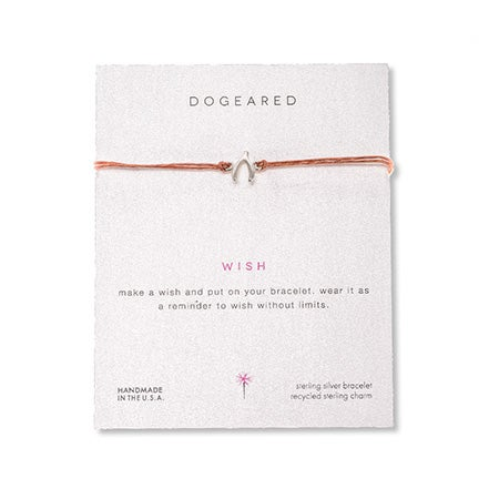 Dogeared Wish Irish Linen Bracelet | Eve's Addiction®