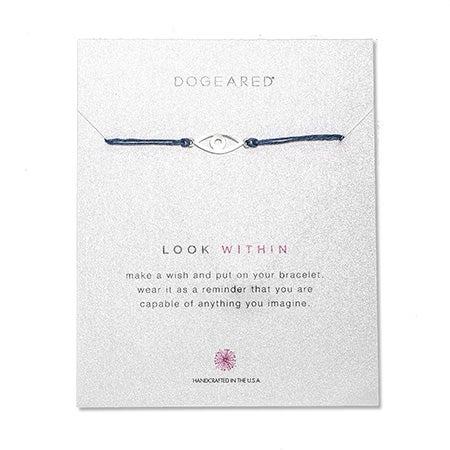 Dogeared Look Within Irish Linen Bracelet | Eve's Addiction®