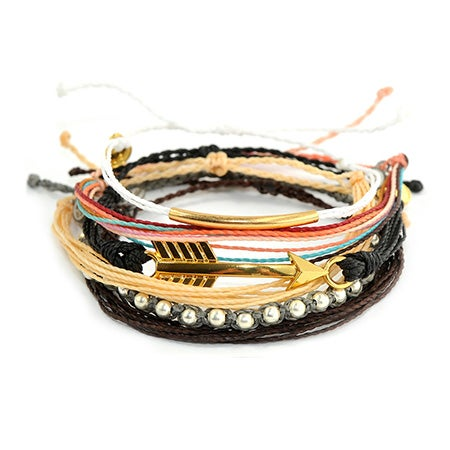 Pura Vida Stackable Bracelet Golden Coast Pack | Eve's Addiction®