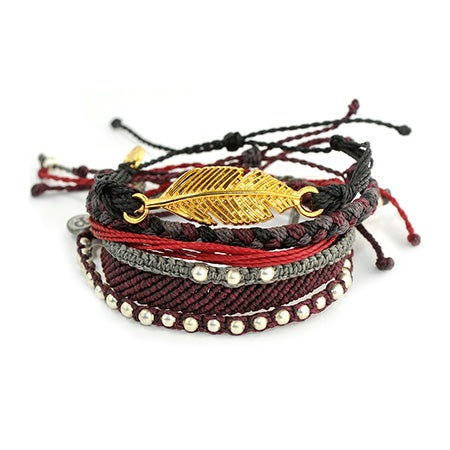 Pura Vida Stackable Bracelet Night Riot Pack | Eve's Addiction®