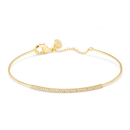 gorjana Shimmer Bar Bracelet in Gold