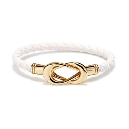 Fornash Sailor's Knot Bracelet in White