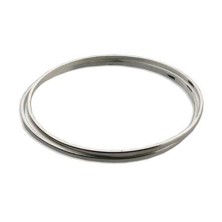 Stackable Sterling Silver Bangle Bracelets | Eve's Addiction®