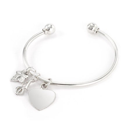 Alpha Phi Sterling Silver Charm Bracelet | Eve's Addiction®