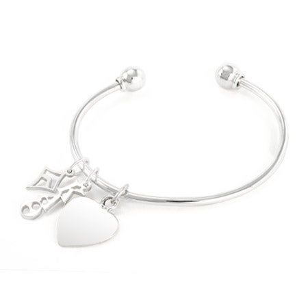 Kappa Alpha Theta Sterling Silver Charm Bracelet | Eve's Addiction®