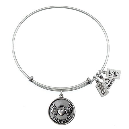 Wind & Fire Blessed Charm Bangle Bracelet | Eve's Addiction®