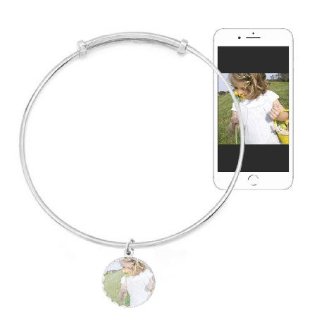 Custom Made Photo Bracelet Bangle Design