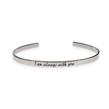 I Am Always With You Cuff Bracelet | Eve's Addiction®
