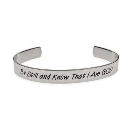 Be Still and Know That I am God Psalm Bracelet | Eve's Addiction®