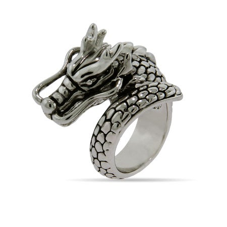 Designer Inspired Bali Style Dragon Ring | Eve's Addiction®
