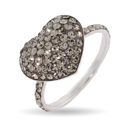 Designer Style Voile CZ Ring | Eve's Addiction®