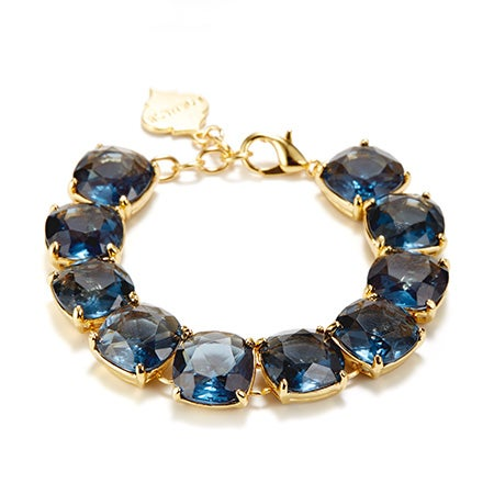 Fornash Charlotte Bracelet with Navy Stones
