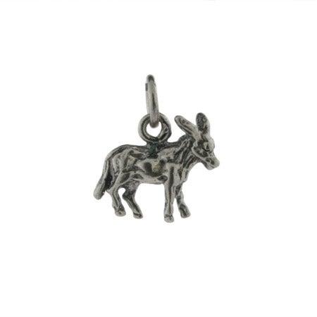 Sterling Silver Donkey Charm