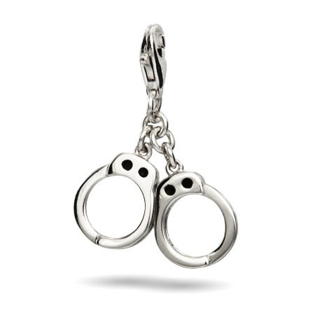 Handcuff Sterling Silver Charm