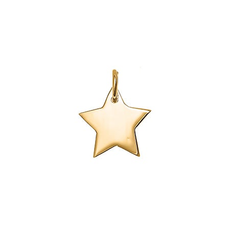 Gold Star Charm | Eve's Addiction