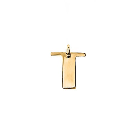 Personalized Initial Gold Charm