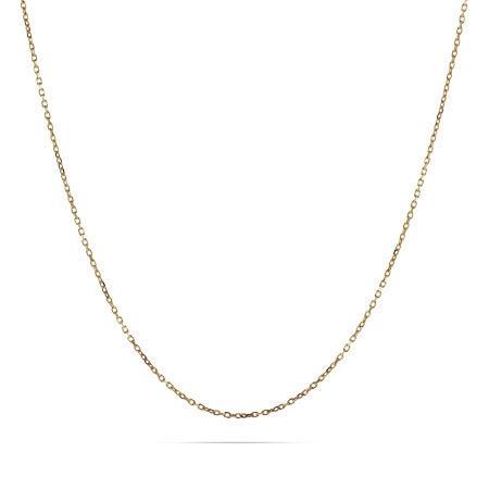 Gold Vermeil Rolo Chain