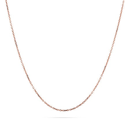Rose Gold Vermeil Rolo Chain