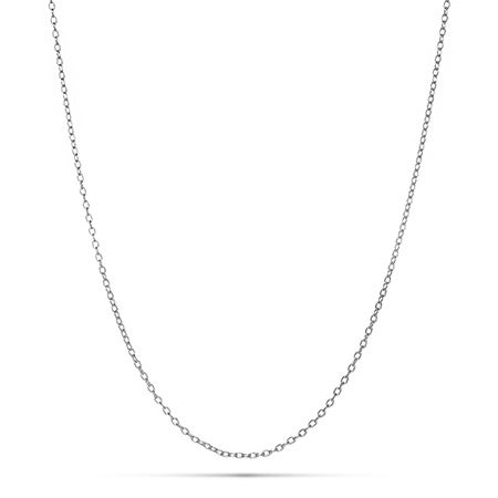 Sterling Silver Rolo Chain | Eve's Addiction