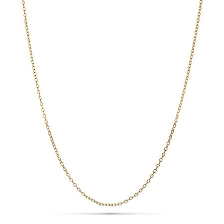 Gold Vermeil Rolo Chain | Eve's Addiction