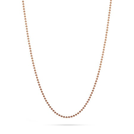 Rose Gold Vermeil Bead Chain