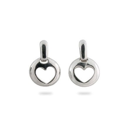 Designer Style Stencil Heart Earrings | Eve's Addiction®