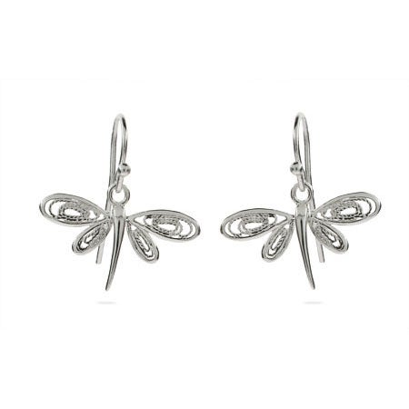 Dragonfly Earrings in a Vintage Design | Eve's Addiction