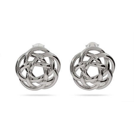 Designer Style Celtic Knot Stud Earrings | Eve's Addiction®