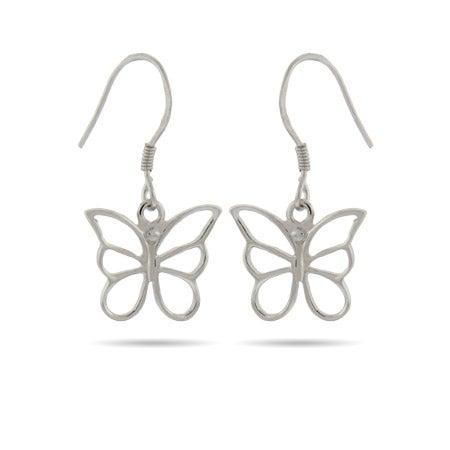 Butterfly Dangle Earrings | Eve's Addiction®