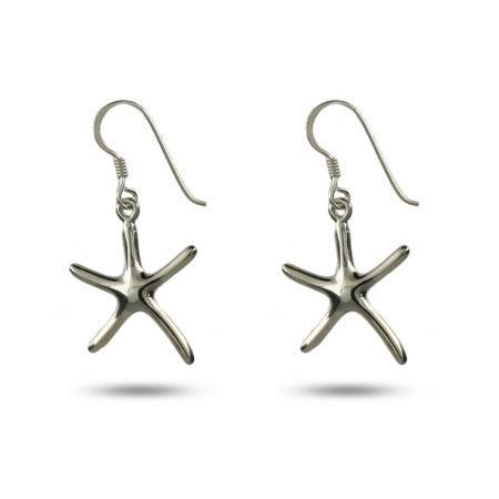 Designer Style Single Starfish Drop Earrings | Eve's Addiction®