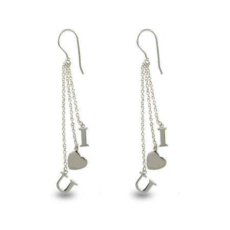 Designer Style I Love You Earrings | Eve's Addiction®