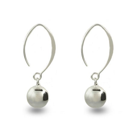 Dangling Bead Sweep Earrings | Eve's Addiction®