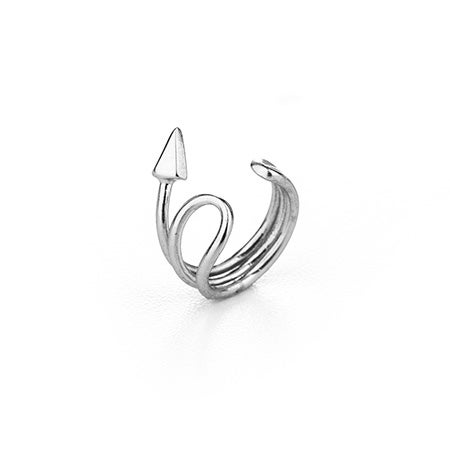 Arrow Ear Cuff in Sterling Silver | Eve's Addiction